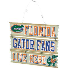 Florida Hanging Fan Sign