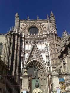 Cathedral of St Mary of the See, Seville, Spain.  The largest gothic cathedral in the world   BBM Explorer, via Flickr