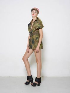 Upcycled Military Uniforms by Benu Berlin, S/S 2015