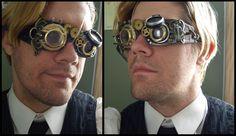 Gafas steampunk by T3Inc.deviantart.com on @deviantART