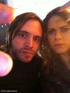 Aaron Stanford and Lyndsy Fonseca