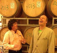 Martin Kerres in Valdonica Wine Cellar, Maremma, Italy