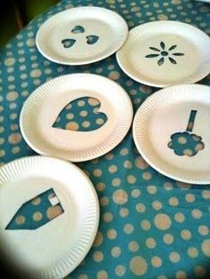 Fun Crafts, Crafts For Kids, Arts And Crafts, Paper Plate Crafts, Paper Plates, Preschool Art, Tampons, Teaching Art, Art Lessons