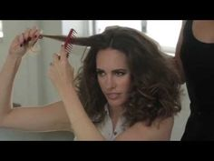 How-To: Retro, 70's Curls at the Jenny Packham Fashion Week Show 2013 | TRESemmé Style Setters - YouTube
