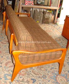 D71 Norsk Divan daybed designed by Fred Lowen for his FLER company c. 1960