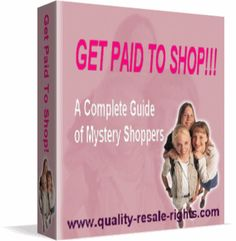 Most mystery shoppers start because it's fun, they enjoy eating out, they like to get free food and other supplies, they enjoy having free holidays, wearing expensive clothes, and even being paid to collect all this fabulous FREE stuff! $1