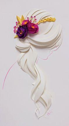 Jackie Huang paper art, paper sculpture