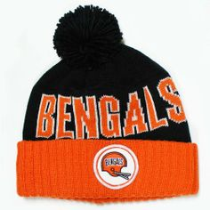 930f71520 Cincinnati Bengals Mitchell   Ness Throwback Vintage Knit Hat with Pom  Mitchell   Ness. Save 2 Off!.  23.49