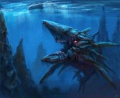 Sea monster by zgul-osr1113