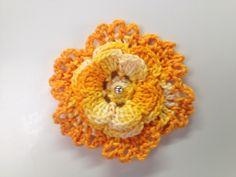 Flor rendada uma de geladeira