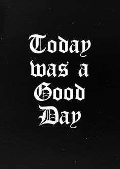 Ice Cube-Today Was a Good Day My fav sng in the whole world.