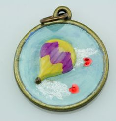 To make kids happy -Handmade Art Charm by Lennis Carrier #3 - 100% donated to Beads of Courage