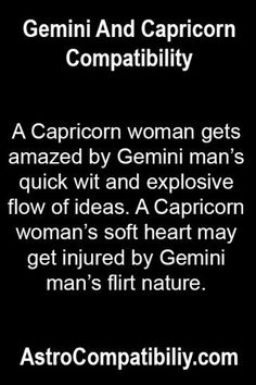 Capricorn female dating capricorn male