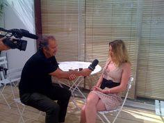 Ludivine Sagnier et Jean-Pierre Lavoignat sous le soleil de Cannes pour PUREchannel.