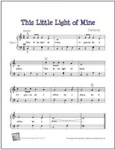 This Little Light of Mine! Love this song!