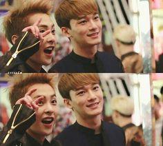 Chen and Xiumin :)