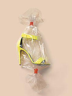 Wrapped Celine Shoe by Michael Baumgarten