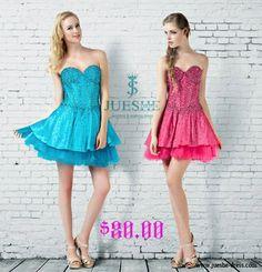 big sale, only $80!!! sweet mini dress http://jueshe-dress.com/sweetheart-beading-short-mini-party-dress-js-e7019.html