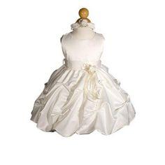 girl's ivory dress