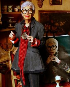 Eyebobs Teams Up with Style Icon Iris Apfel