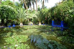 Marjorelle Gardens, Marrakech, Morocco (Home of Yves Saint Laurent)