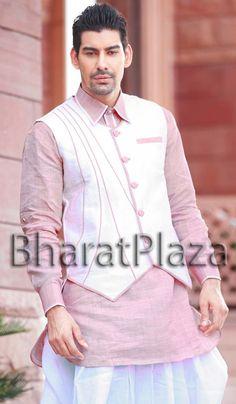 Tremendous Linen Kurta. Item code: SKB2037 https://twitter.com/bharatplaza_in  https://www.facebook.com/bharatplazaindianbridal