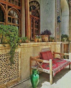 Manteghi Nejad Mansion, #Shiraz, #Iran  realiran.org