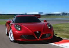 Alfa Romeo 4C voted Most Beautiful Car of the Year 2013