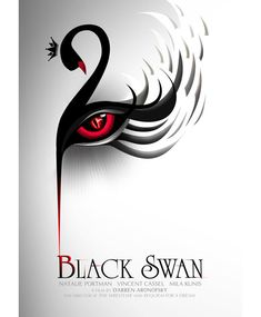 Minimally Minimal Logos This poster design for 'Black Swan' the designer have an idea that is from of constrained visual language.This poster design for 'Black Swan' the designer have an idea that is from of constrained visual language. Minimal Movie Posters, Minimal Poster, Cinema Posters, Minimal Logo, Cool Posters, Simple Poster, Cool Poster Designs, Poster Design Inspiration, Design Posters