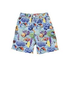 F&F Photographic Print Swimshorts