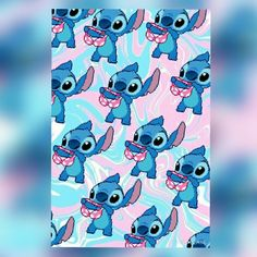 Disney stich background