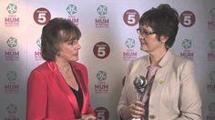 Tesco Mum of the Year 2014. GBSS Jane Plumb MBE and Esther Rantzen CBE