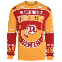Washington Redskins Cotton Retro Sweater from UglyTeams