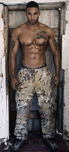 Thank god for military men O.o