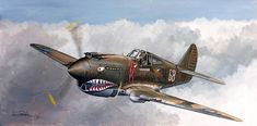 Curtiss P-40 WarHawk Sabre Jet, Volunteer Groups, Military Art, Tigers, Fighter Jets, Projects To Try, Sci Fi, Aircraft, American