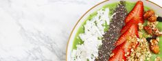 Matcha Smoothie Bowl - Steep Thoughts