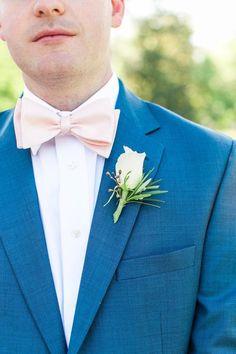 SALE 30% OFF Champagne Cream Blush Bow Tie SELF Tie   BowTie Champagne Cream  Classic Bow Tie  Wedding Bow Tie - $9.70 USD