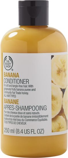 The Body Shop Online Only Banana Conditioner | Ulta Beauty