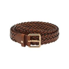 Mulberry - Braided Belt in Toast Natural Leather