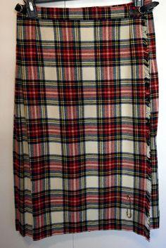 Vintage Ladies Traditional Wool Kilt By GorRay by SunDazeVintage, €12.99