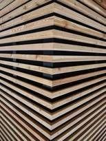 Výsledek obrázku pro drevena fasada modrin