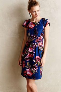 Anthropologie - Rosado Sheath dress ($158) Love the style & fabric looks gorgeous!
