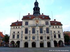 Rathaus Lüneburg / Lueneburg Townhall - stunning interiors | more pics on blog