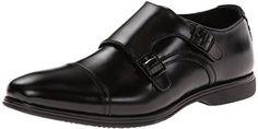 Steve Madden Men's Bulkk Oxford,Black Men Dress, Dress Shoes, Double Monk Strap Shoes, Steve Madden, Oxford Shoes, Black, Fashion, Moda, Black People
