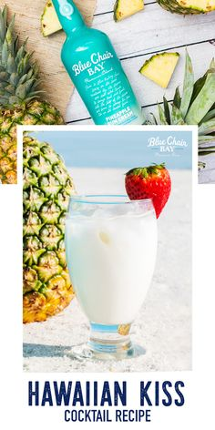 Bar Drinks, Cocktail Drinks, Cocktail Recipes, Cocktails, Bourbon Drinks, Alcoholic Punch, Non Alcoholic Drinks, Rum Cream, Pineapple Rum