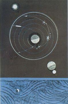 Max Ernst (1891-1976). Configuration, 1974.