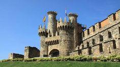 Diez castillos visitables en España - ABC.es CASTILLO TEMPLARIO DE PONFERRADA