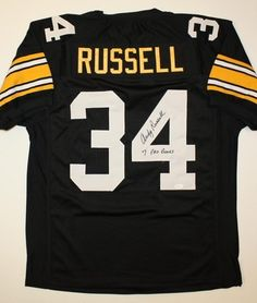 AAA Sports Memorabilia LLC - Andy Russell Pittsburgh Steelers NFL Hand  Signed Authentic Style Black Jersey 57262264a
