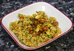 Cracked wheat-Fada-Godhuma Rava Upma
