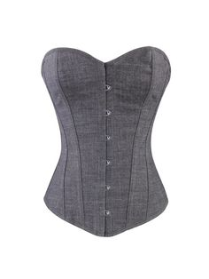This is a stunning well made steel boned corset that is perfect for shaping your waist. It is made from cotton and is extremely strong. The steel bones are stro